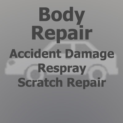 Body repair, accidental damage, respray, scratch repair